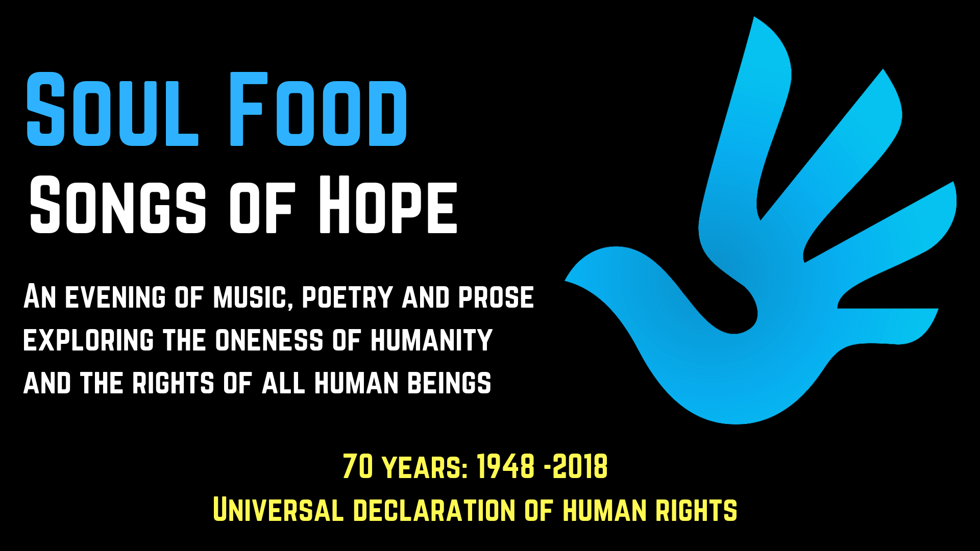 Soul Food - Songs of Hope - Universal Declaration of Human Rights