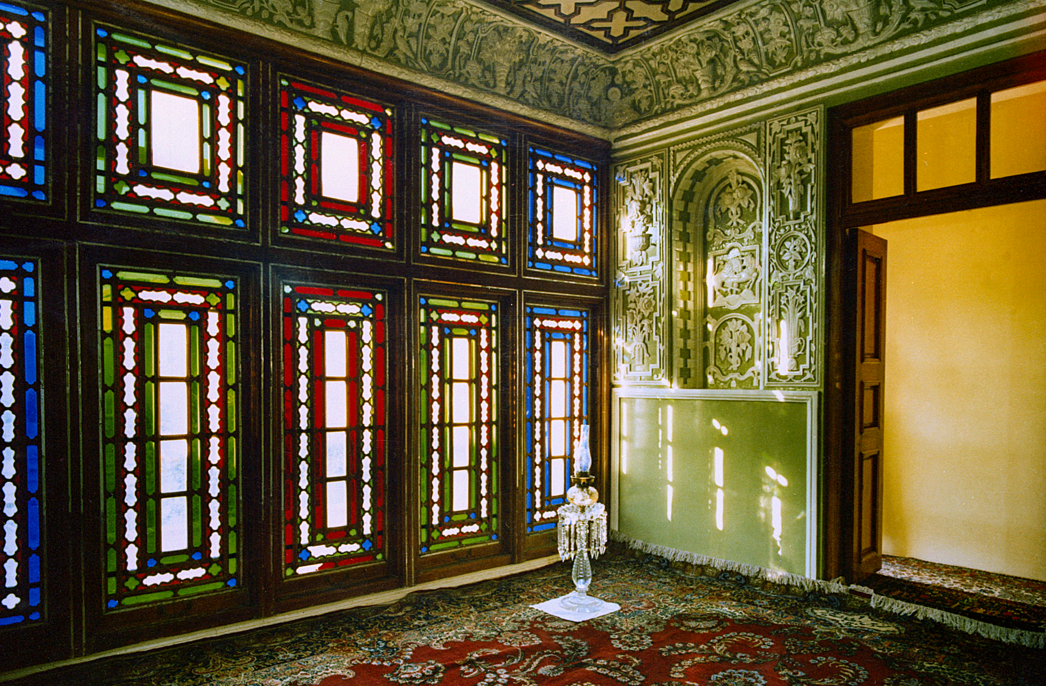 The room in the House of the Báb where the Báb declared His Mission in Shiraz, Iran, before its destruction in 1979.